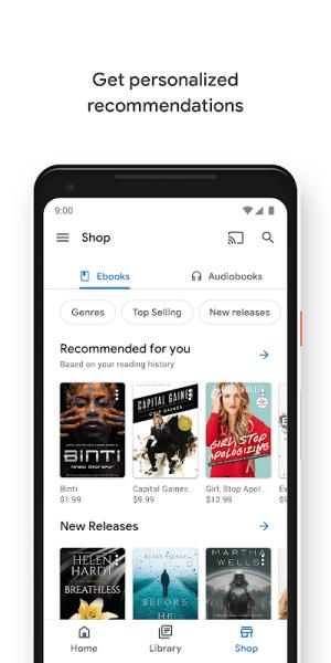 Android Google Play Books - Ebooks, Audiobooks, and Comics Screen 13