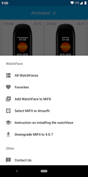 MiBand4 - WatchFace for Xiaomi Mi Band 4 1.5.0 Screen 2