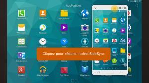 Android GALAXY Tab S Expérience Screen 3