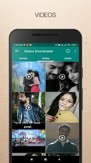 Android Status Downloader for WhatsApp - Status Saver Screen 2