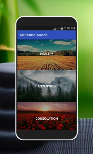 Android Music for Meditation Screen 2
