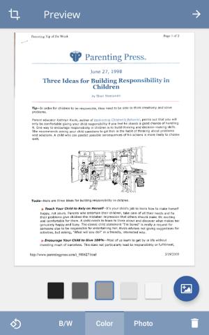 TurboScan: scan documents & receipts in PDF 1.5.7 Screen 11