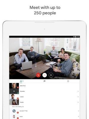 Hangouts Meet 2021.03.21.366254902.Release Screen 1