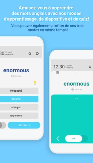 WordBit Anglais (mémorisation automatique ) 1.3.8.84 Screen 4