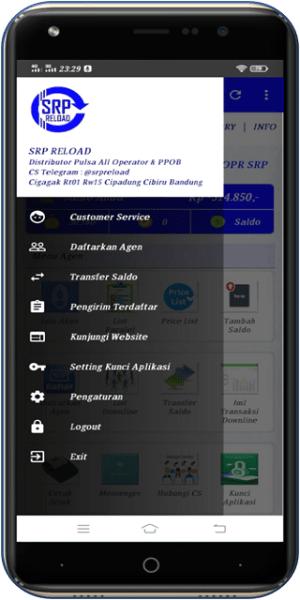SRP RELOAD - Distributor Pulsa All Operator 3.19 Screen 4