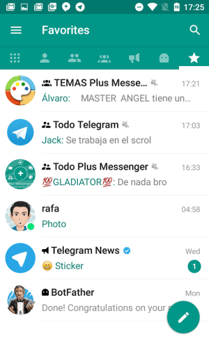 Android Plus Messenger Screen 6