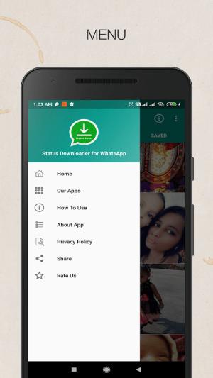 Status Downloader for WhatsApp - Status Saver 1.0 Screen 4
