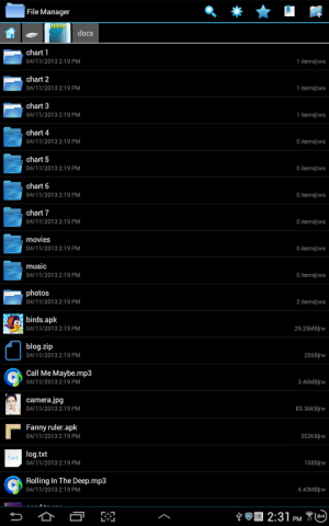 File Explorer 3.2.1 Screen 5
