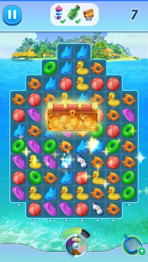 Android The Love Boat: Puzzle Cruise – Your Match 3 Crush! Screen 1