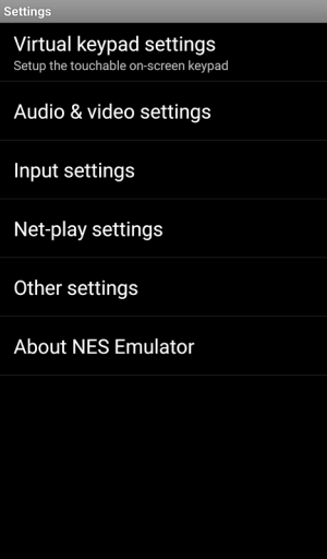 Android NES Emulator Screen 3
