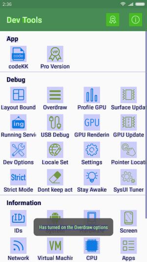 Dev Tools 2.0.2 Screen 2
