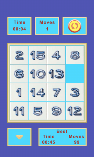 15 Puzzle 2.4 Screen 1