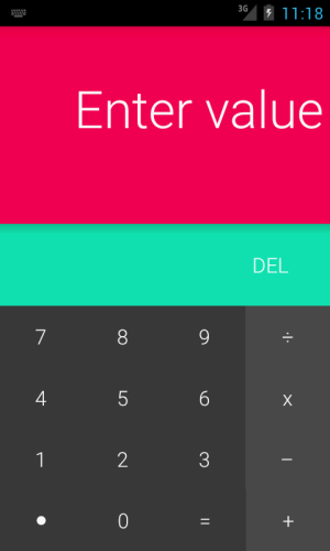 Android Android L Calculator Screen 5