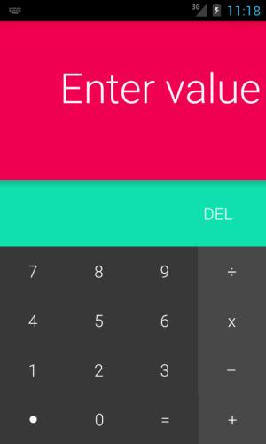 Android L Calculator 1.4 Screen 5