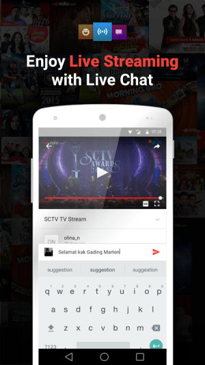 vidio nonton tv video_v2.0.4 2.0.4 Screen 1