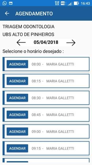 Agenda Fácil - Prefeitura SP 4.6 Screen 2