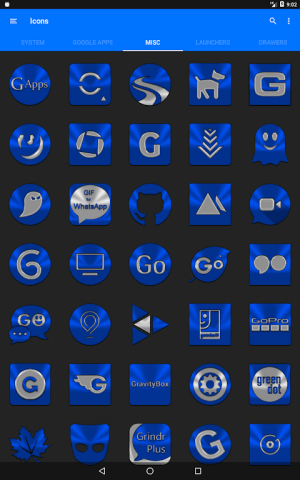 Blue Icon Pack ✨Free✨ 3.8 Screen 23