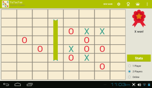 Android Tic Tac Toe Screen 10