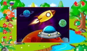 Android Big puzzles for children Screen 1