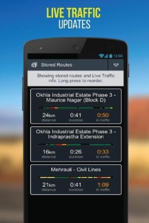 NaviMaps: 3D GPS Navigation 3.0.0 Screen 2