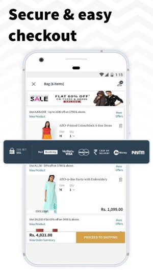 AJIO Online Shopping App 4.5 Screen 5