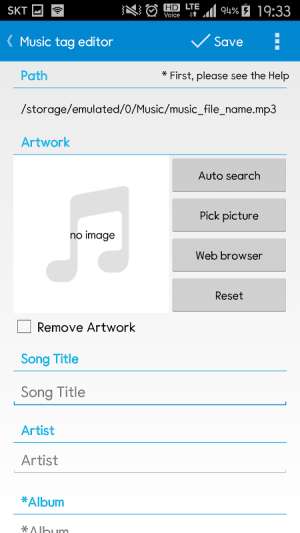 Star Music Tag Editor 2.0.6 Screen 2