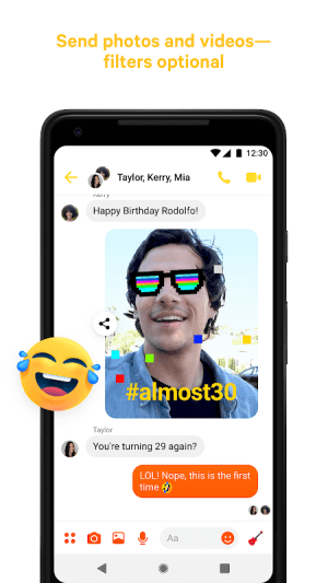 Messenger – Text and Video Chat for Free 237.0.0.6.108 Screen 1