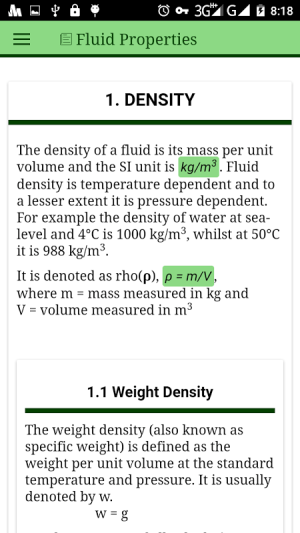 Fluid Mechanics 1.0.3 Screen 3