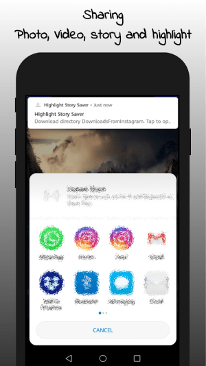 Android Highlight Story Saver for Instagram Screen 5