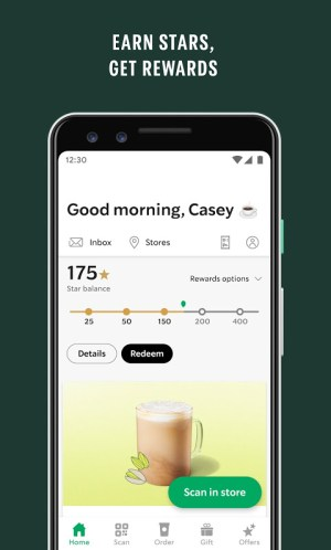 Starbucks 6.5.1 Screen 3