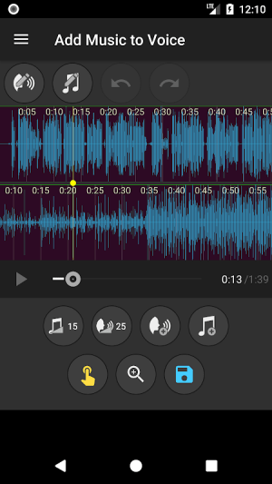 Add Music to Voice 2.0.4c Screen 2