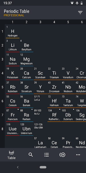 Periodic Table 2019 PRO - Chemistry 0.2.91 Screen 5