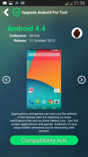 Upgrade for Android Pro Tool 1.2.0 Screen 4