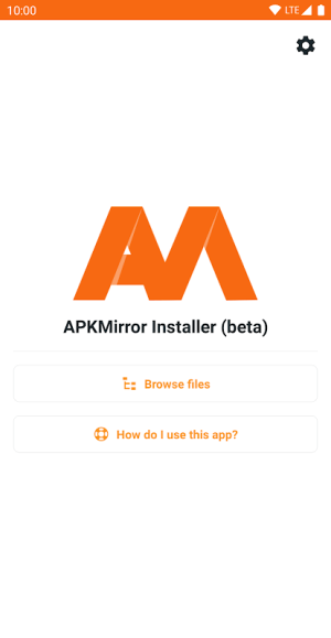 APKMirror Installer (Official) 1.2.2 (13-4) Screen 1
