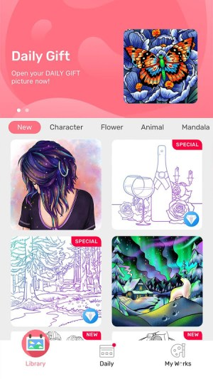Paint By Number - Free Coloring Book & Puzzle Game 1.16.7 Screen 9