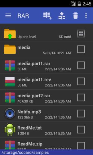 RAR 5.50.build43 Screen 10