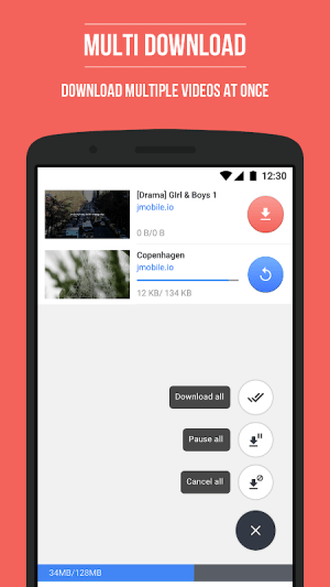 Android HD Video Downloader Screen 3