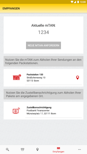 DHL Paket 2.25.1 Screen 11