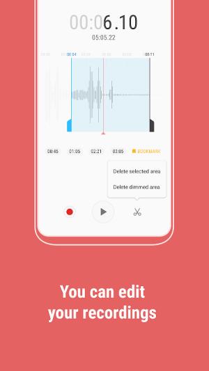 Samsung Voice Recorder 21.2.20.28 Screen 3
