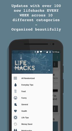 DIY life hacks and tips v5.3.0 Screen 1