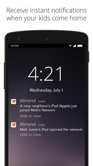 Almond 7.64 Screen 2