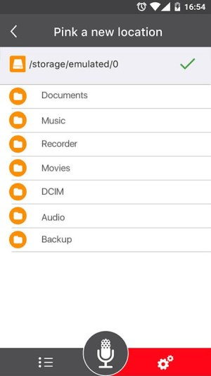 Voice Recorder 45 Screen 6