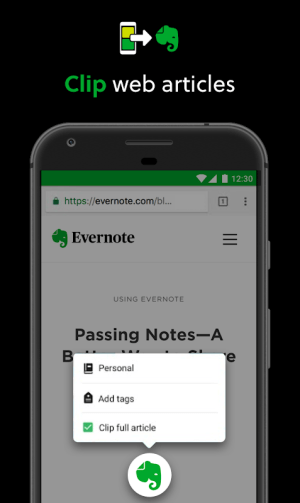 Evernote - stay organized. 8.12.5 Screen 13