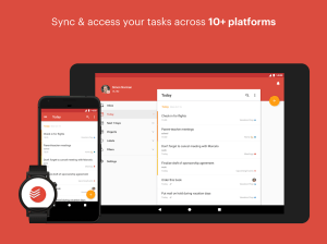 Todoist: To-Do List, Task List 12.9 Screen 10