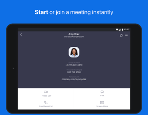 ZOOM Cloud Meetings 4.5.5699.1027 Screen 5