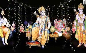 4D Shri Rama (श्री राम दरबार) Live Wallpaper 9.0 Screen 5