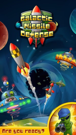 Android Galactic Missile Defense Screen 3