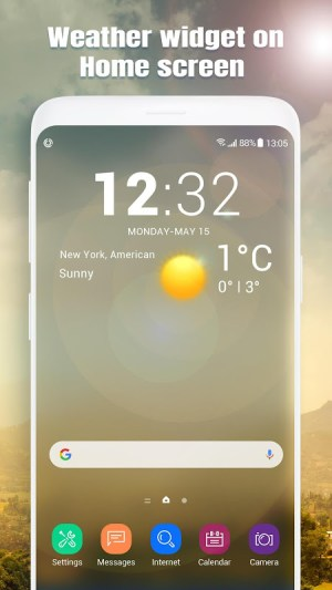 Android Real-time weather report Screen 6