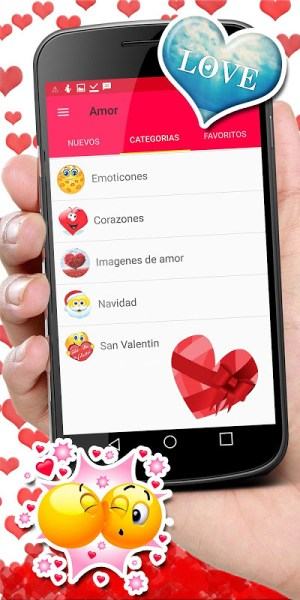 Android 💕😍 WAStickerApps love stickers for whatsapp Screen 4
