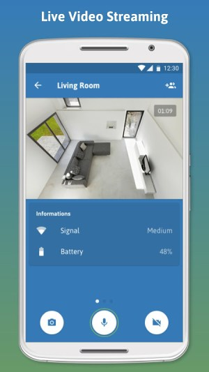Turn my old phone into a Free Home Security Camera 1.7.9 Screen 2